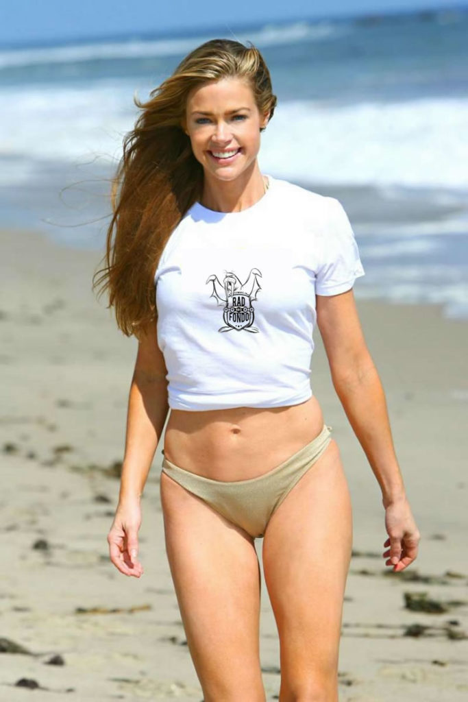 Denise Richards and Rad Fondo BBQ